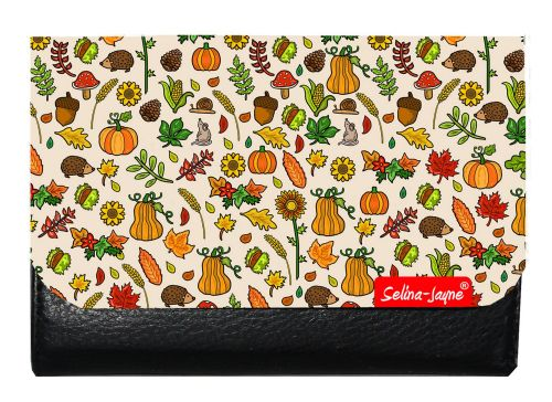 Selina-Jayne Autumn Meadow Limited Edition Designer Small Purse